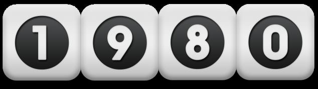 1980 dice